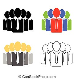 csoport, emberek