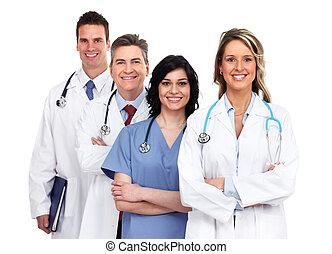 csoport, orvosok