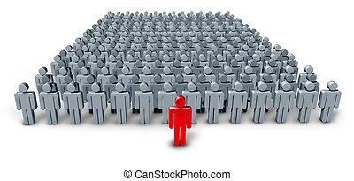 csoport, vezető, ügy