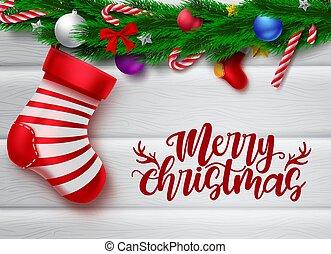 cukorka, struktúra, fehér, transzparens, kalap, sóvárog, szent, köszönés, szöveg, vektor, üres, elem, sétabot, lakberendezési tárgyak, karácsony, zöld, szeret, erdő, karácsony, vidám, háttér., hely, üzenet