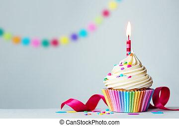 cupcake, születésnap