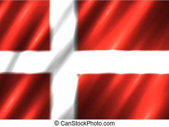 dánia, nemzeti lobogó, háttér