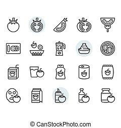 díszlet tervezés, jelkép, ikon, paradicsom, áttekintés