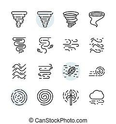 díszlet tervezés, jelkép, ikon, tornádó, áttekintés