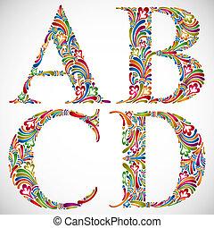 d., c-hang, b betű, irodalomtudomány, abc, választékos