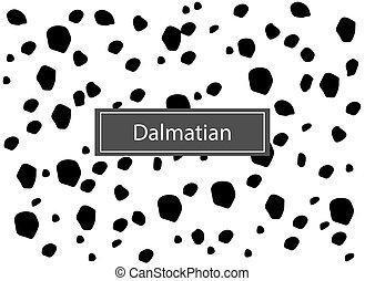 dalmáciai, pattern., seamless