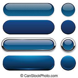 dark-blue, buttons., high-detailed, modern, háló