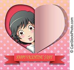 day., boldog, valentine's