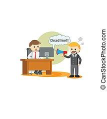 deadline., értesülés