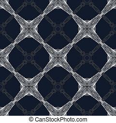 deco, művészet, modern, pattern., 1930s, geometriai