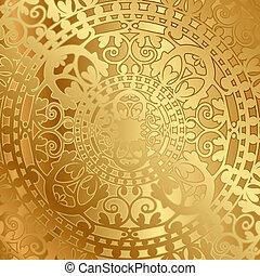 dekoráció, keleti, háttér