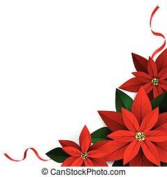 dekoráció, white christmas