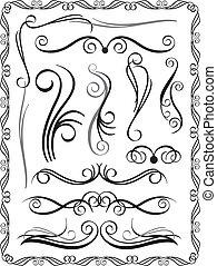 dekoratív, 1, határok, állhatatos