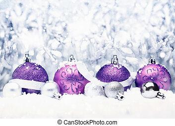 dekoratív, karácsony, köszönés