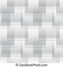 derékszögben, egyszerű, motívum, modern, -, seamless, struktúra, vektor, fekete, geometriai, fehér