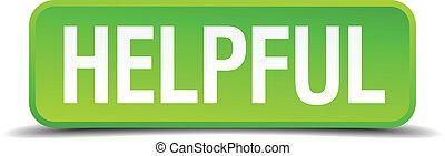 derékszögben, hasznos, gombol, elszigetelt, gyakorlatias, zöld, 3