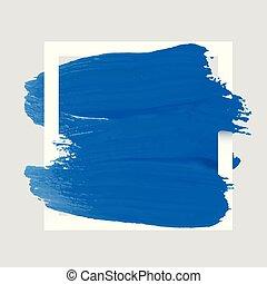 derékszögben, művészet, frame., banner., festett, poszter, elvont, kiárusítás, struktúra, vízfestmény festmény, ütés, tervezés, háttér., jel, akril, fehér, ecset