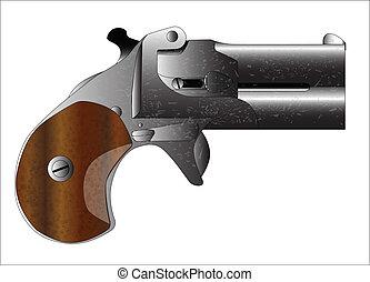 derringer, pisztoly