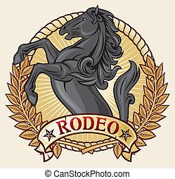 design), (rodeo, rodeó, címke