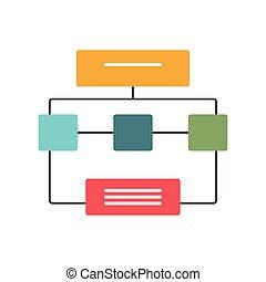 diagram, egyesített, szervezet