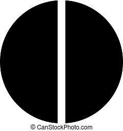 diagram, pite, fél
