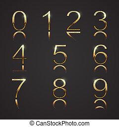 digits, arany-