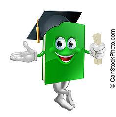 diplomás, oktatás, könyv, kabala