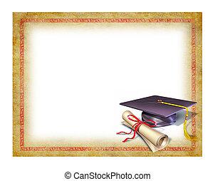 diploma, fokozatokra osztás, tiszta