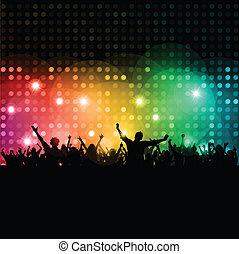 disco, emberek