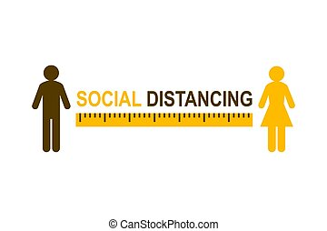 distancing, társadalmi