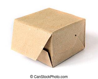 doboz, fehér, kartondoboz, háttér