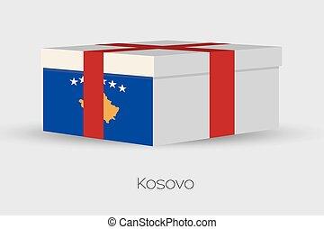 doboz, lobogó, tehetség, kosovo
