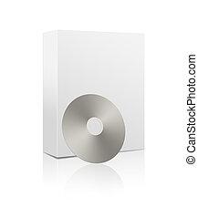 doboz, szoftver, cd