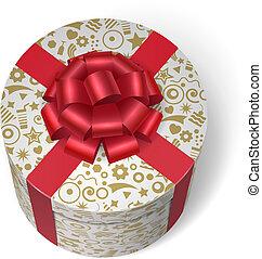 doboz, tehetség, meglep, ajándékoz