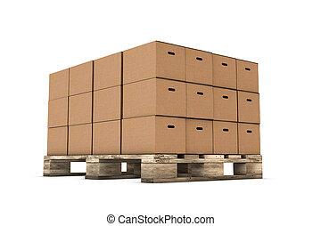 dobozok, kartonpapír, összekapcsol