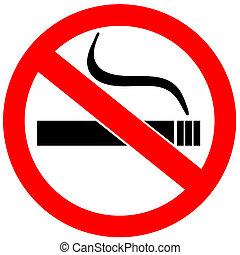 dohányzó, nem, aláír
