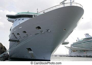 dokk, hajó cruise