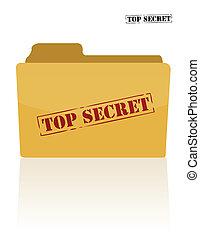 dokumentum, titkos, irattartó