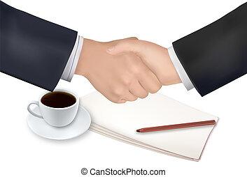 dolgozat, akol, felett, kézfogás