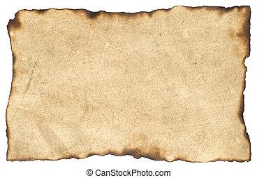 dolgozat, pergament, tiszta