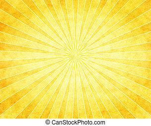 dolgozat, rövid napsütés, sárga
