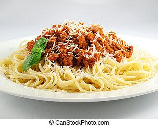 dombocska, spagetti