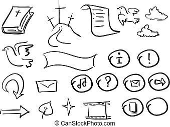 doodle2, biblia