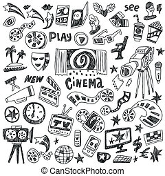 doodles, mozi