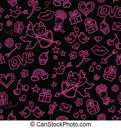 doodles, valentines