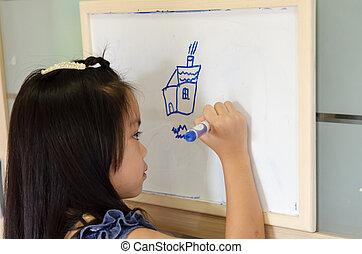 drawing., gyermekek