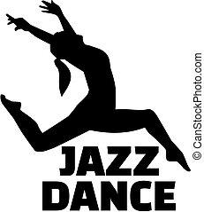 dzsessz, táncos, női