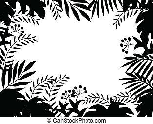 dzsungel, árnykép