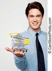 e-commerce, összead, fogalom, kordé
