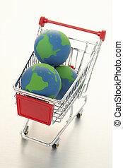 e-commerce, globális